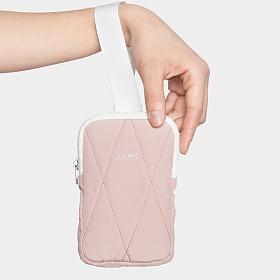 [키크]keek 퀼팅 포켓 - 핑크