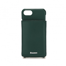 [페넥]FENNEC LEATHER iPHONE 7/8 TRIPLE POCKET CASE - MOSS GREEN 레더 아이폰 케이스