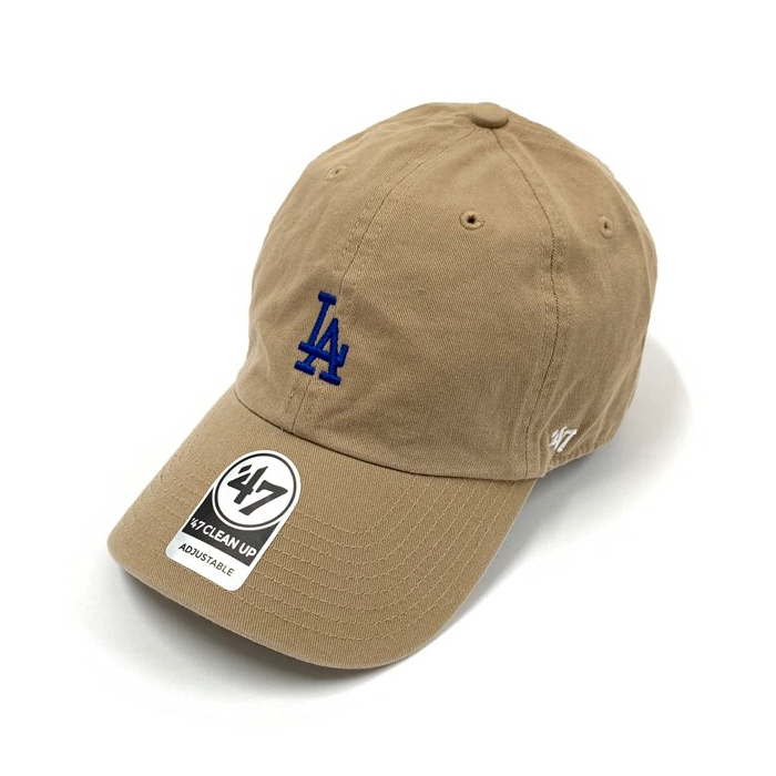 47브랜드 스몰로고 LA 다저스 클린업 카키로얄블루 / KHA