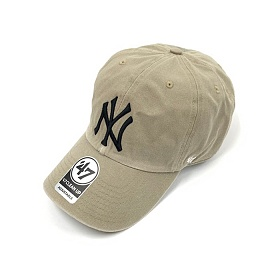 47브랜드 빅로고 NY 양키스 클린업 카키 / KHD