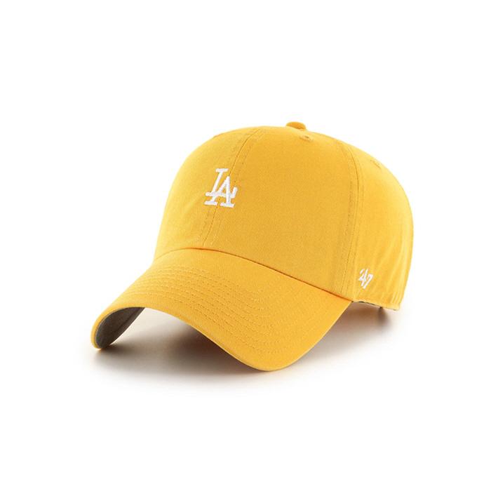 47브랜드 스몰로고 LA 다저스 클린업 옐로우골드 / YG