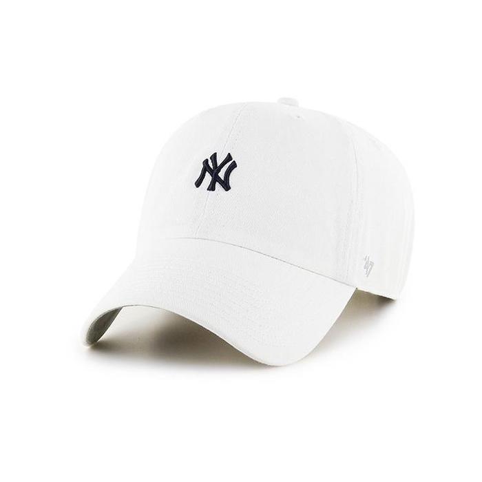 47브랜드 스몰로고 NY 양키스 클린업 화이트 / B-BSRNR17GWS-WHITE