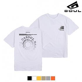 다소울 - LOST DASOUL - (SBSS8S-030) - 나염반팔 반팔티
