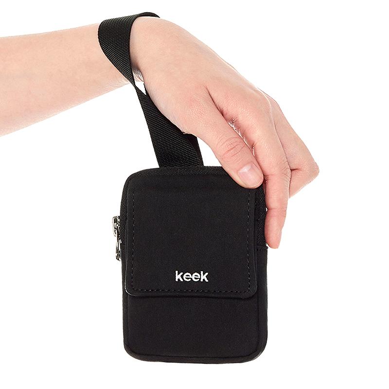[키크]keek 버클 포켓 - 블랙