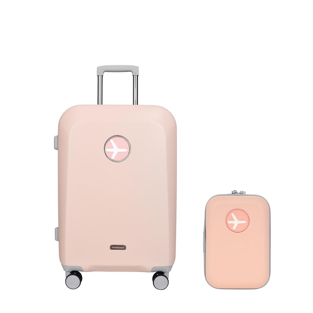 마카롱 20인치 기내용 캐리어 (핑크)