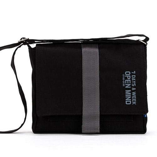 [핍스] PEEPS open mind mini cross bag(black) 미니 크로스백