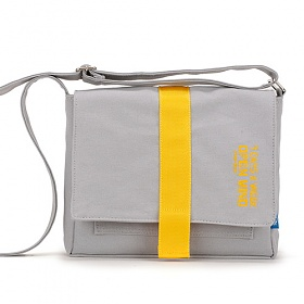 [핍스] PEEPS open mind mini cross bag(gray) 미니 크로스백