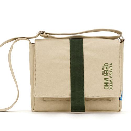 [핍스] PEEPS open mind mini cross bag(beige) 미니 크로스백