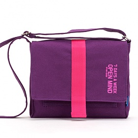 [핍스] PEEPS open mind mini cross bag(violet) 미니 크로스백