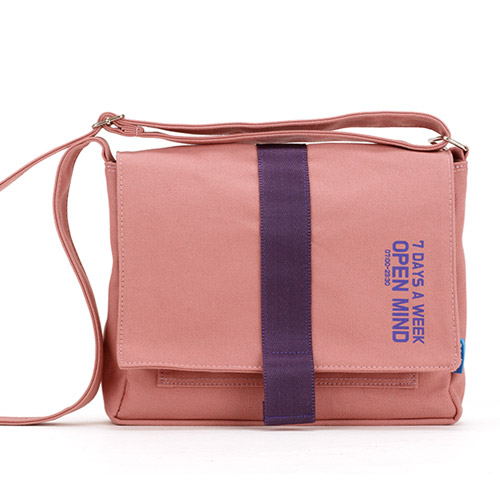 [핍스] PEEPS open mind mini cross bag(indy pink) 미니 크로스백