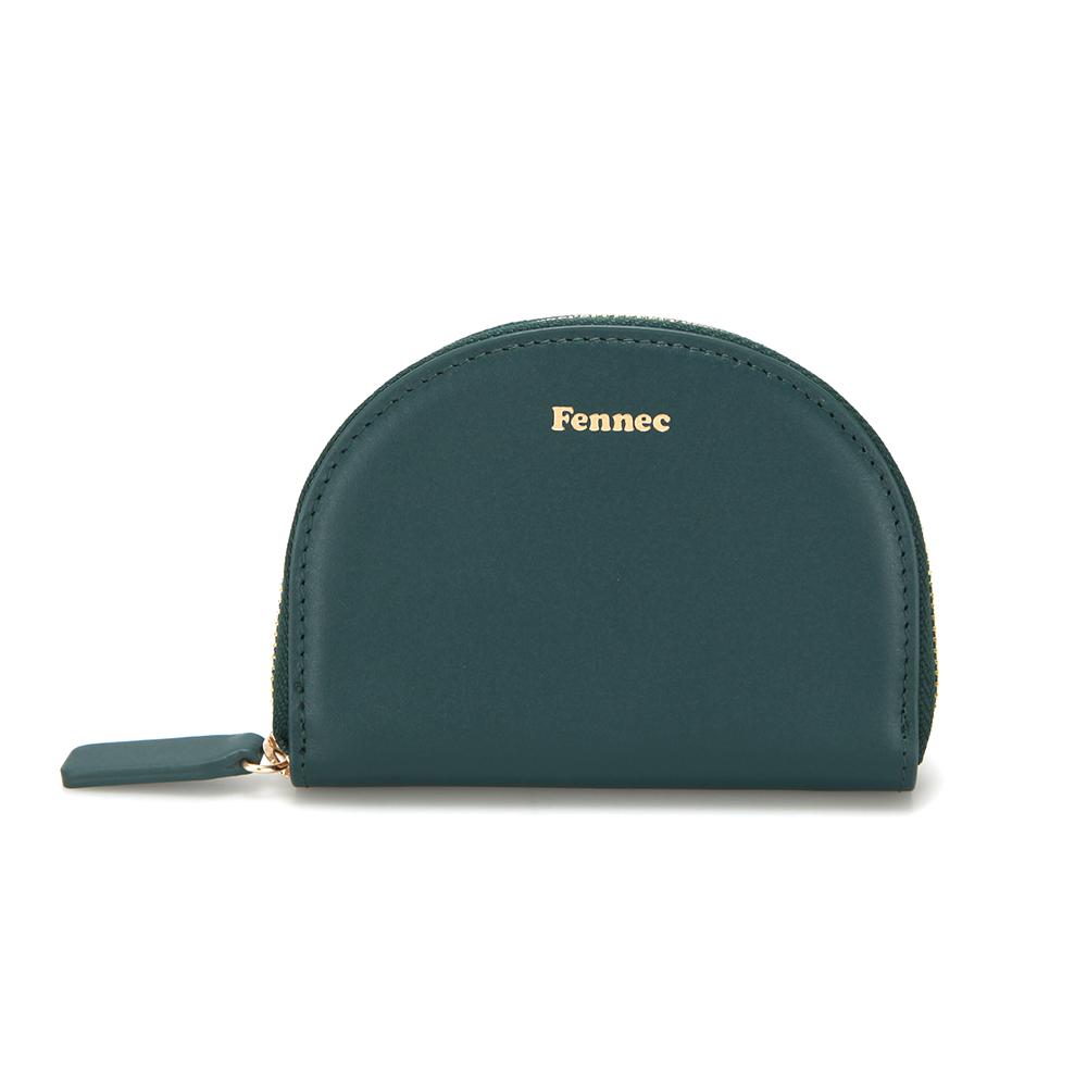 [페넥]Fennec Halfmoon Pocket 004 Moss Green 하프문 포켓 지퍼지갑