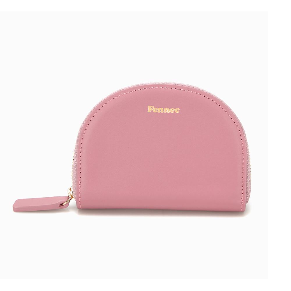 [페넥]Fennec Halfmoon Pocket 003 Rose Pink 하프문 포켓 지퍼지갑