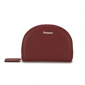 [페넥]Fennec Halfmoon Pocket 002 Smoke Red 하프문 포켓 지퍼지갑