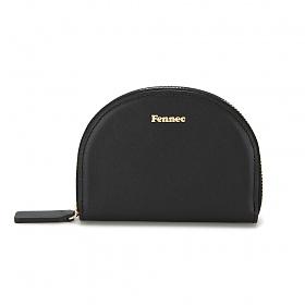 [페넥]Fennec Halfmoon Pocket 001 Black 하프문 포켓 지퍼지갑