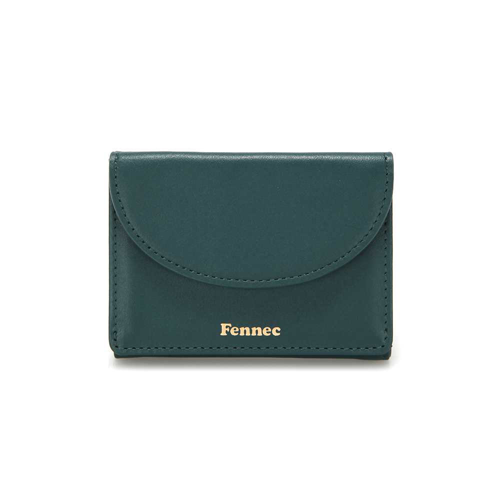 [페넥]Fennec Halfmoon Mini Wallet 004 Moss Green 하프문 미니 지갑