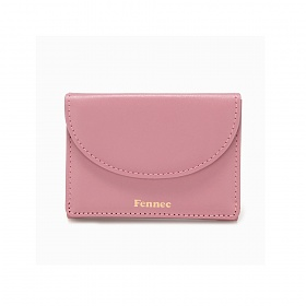 [페넥]Fennec Halfmoon Mini Wallet 003 Rose Pink 하프문 미니 지갑