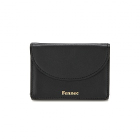 [페넥]Fennec Halfmoon Mini Wallet 001 Black 하프문 미니 지갑