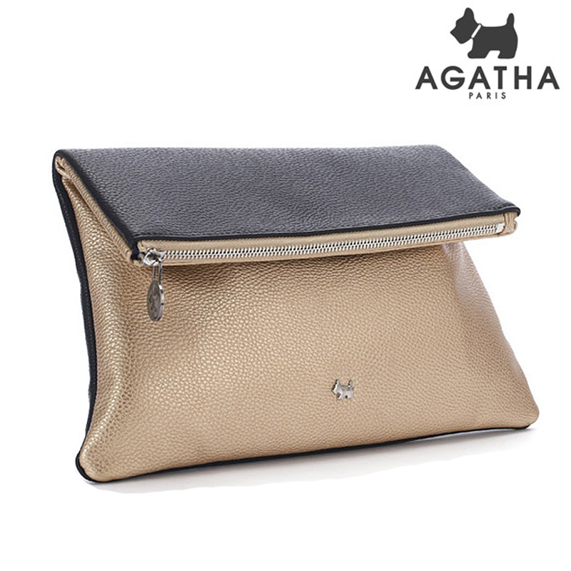 아가타 시드니 클러치백 AGT151B10-1 GOLD 정품