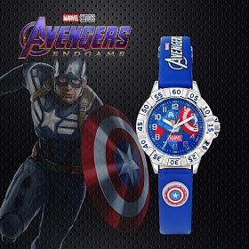 [MARVEL] 마블 어벤져스 시계 캡틴아메리카 MA021-CA