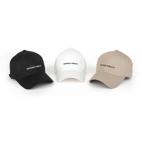 [내셔널퍼블리시티] COTTON PF BALL CAP 볼캡 모자