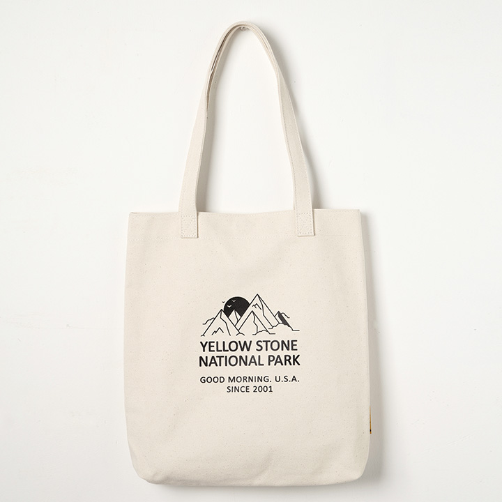 [옐로우스톤]에코백 MOUNT CANVAS BAG -YS2094IM /IVORY