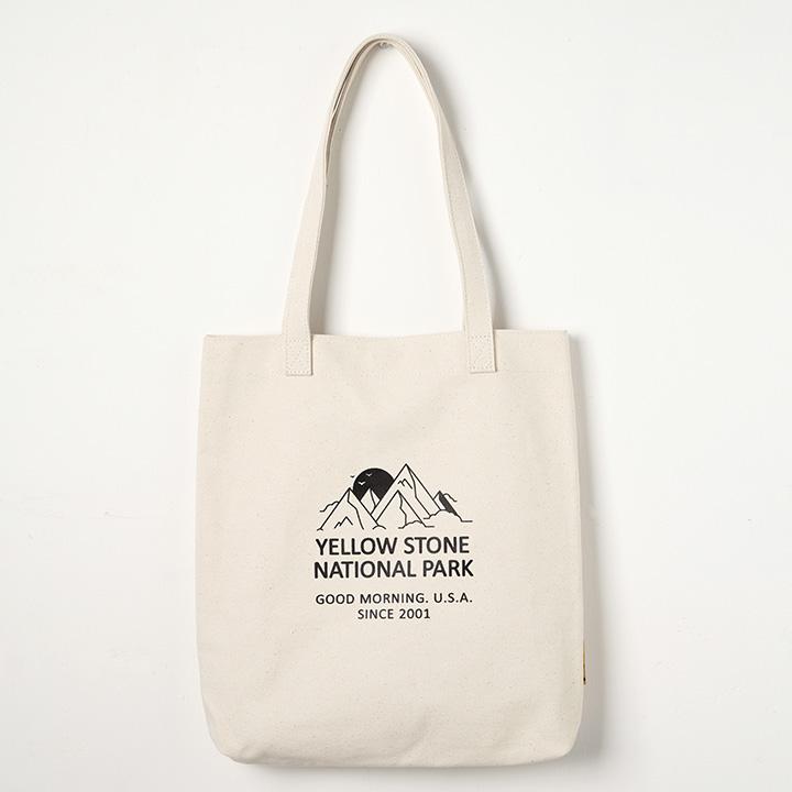 옐로우스톤 에코백 MOUNT CANVAS BAG 아이보리