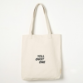 [옐로우스톤]에코백 LOGO CANVAS BAG -YS2094IY /IVORY