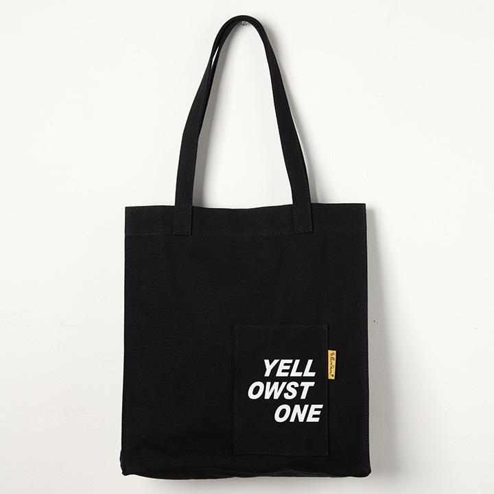 [옐로우스톤]숄더백 ONE POCKET BAG -YS2095BY /BLACK 에코백