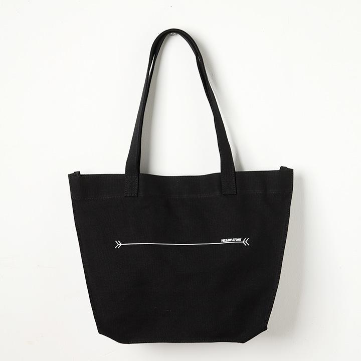 [옐로우스톤]숄더백 TRAPEZIUM BAG -YS2100BY /BLACK 에코백