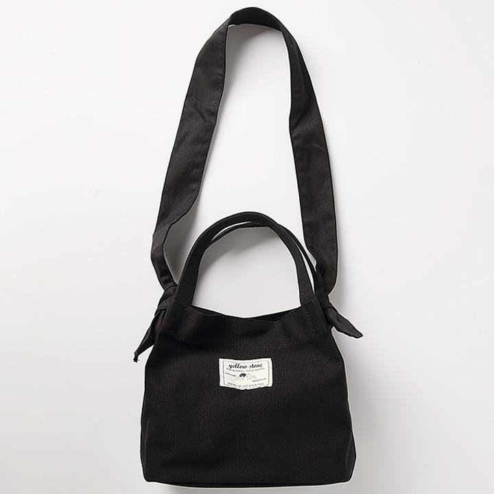 [옐로우스톤]미니백 SELMA TOTE BAG -YS2102BY /BLACK 에코백