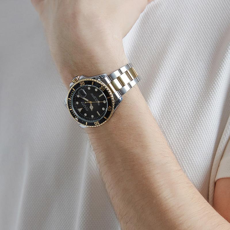 줄리어스옴므 - JAH-104 남성 메탈손목시계 (4color)