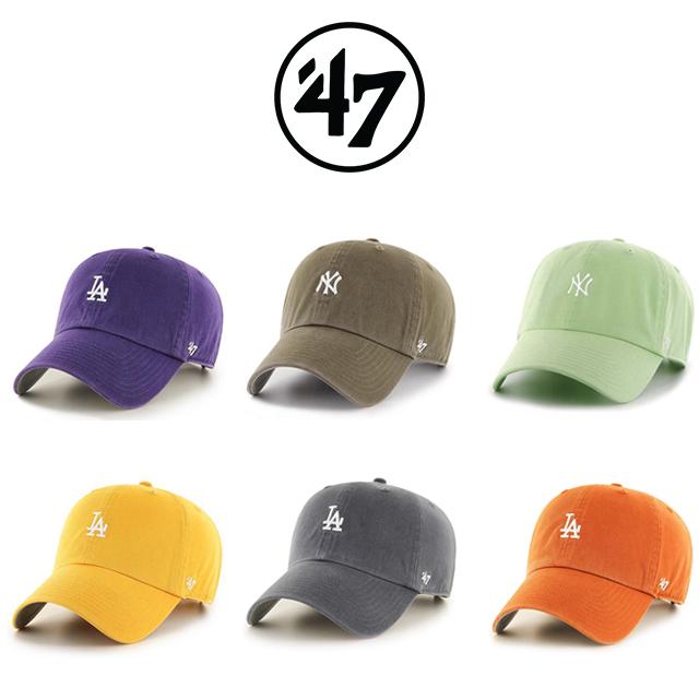 47브랜드 모자 (스몰로고) MLB모자 LA다저스 NY양키스 볼캡 야구모자