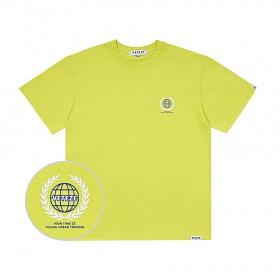 베테제 - Earth Logo Campaign T-Shirt (neon) 어스 로고 캠페인 티셔츠 (네온)