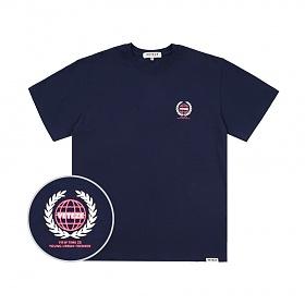 베테제 - Earth Logo Campaign T-Shirt (navy) 어스 로고 캠페인 티셔츠 (네이비)