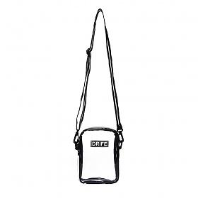 [드라이프]DRIFE - PVC MINI CROSS BAG - WHITE(CLEAR) 투명 클리어백 미니 크로스