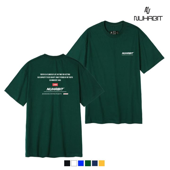 뉴해빗 - BURNING 1989 - (SBS9S-7096) - 나염반팔