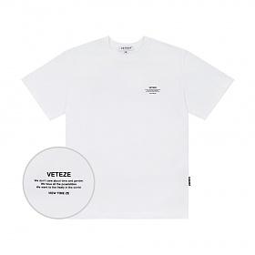 베테제 - Basic Half T-Shirt (white) 베이직 하프 티셔츠 (화이트)
