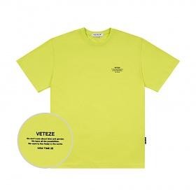 베테제 - Basic Half T-Shirt (neon) 베이직 하프 티셔츠 (네온)