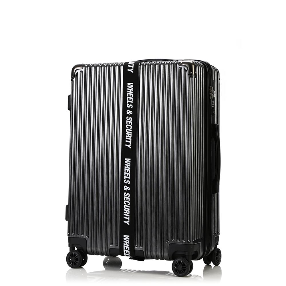 [오그램] 휠 마스터 PC 캐리어 20인치 블랙