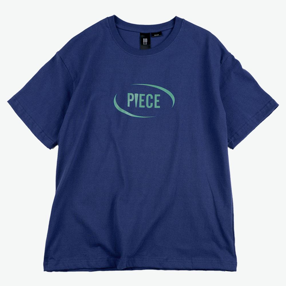 [피스메이커]CIRCLE LOGO TEE (NAVY) 반팔 티셔츠