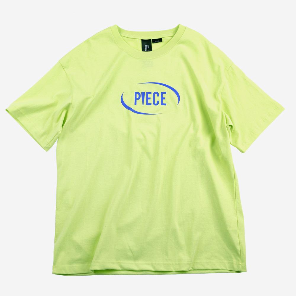 [피스메이커]CIRCLE LOGO TEE (LIME) 반팔 티셔츠