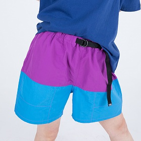 [피스메이커]NYLON COLOR SHORTS (PURPLE) 반바지