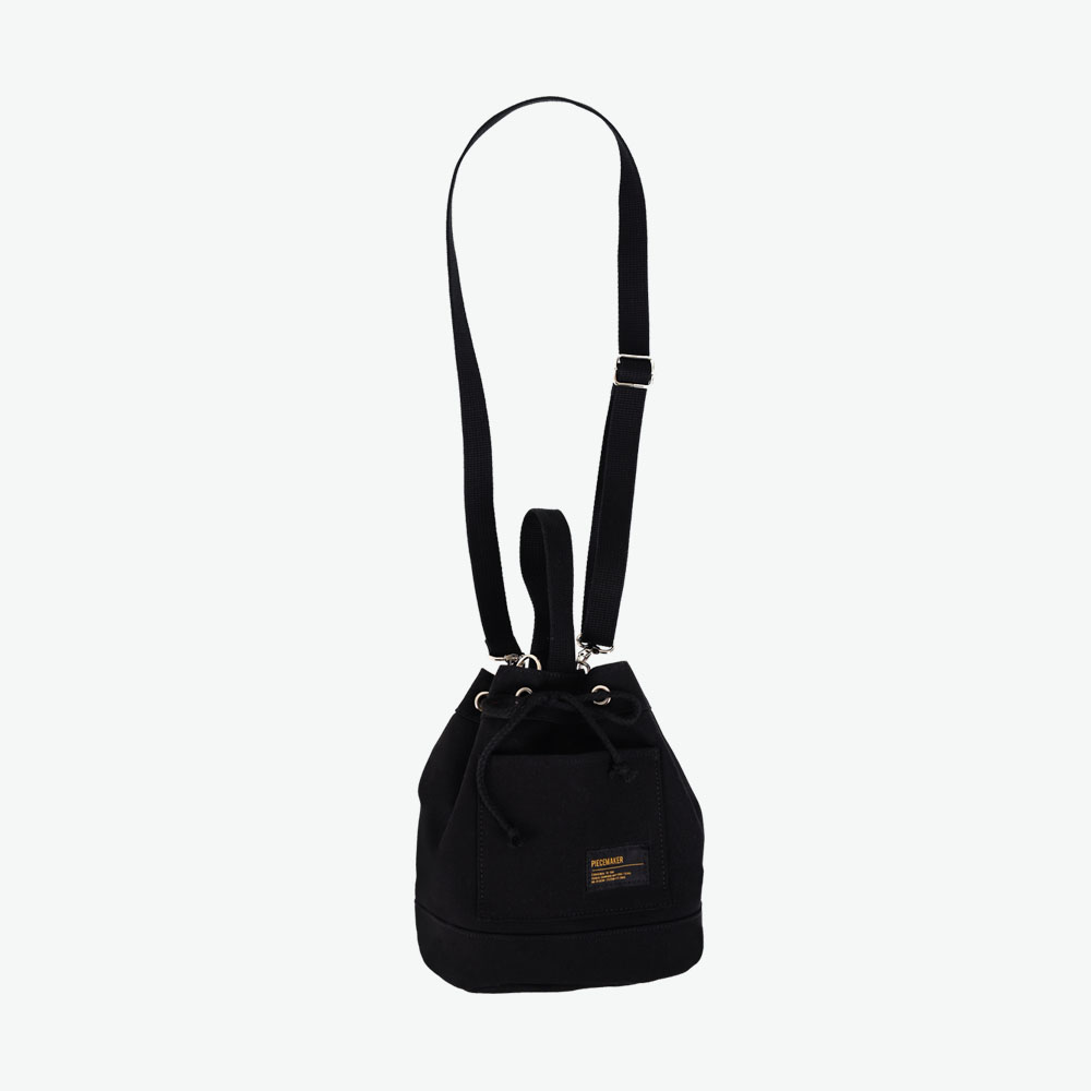 [피스메이커]CANVAS BUCKET BAG (BLACK) 버킷백 복조리 가방