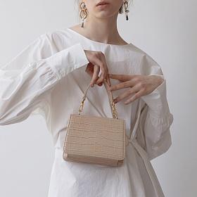 [세미코드] SEMICODE  - 아코드(acode)백 beige 토트백 크로스백 숄더백 여성가방