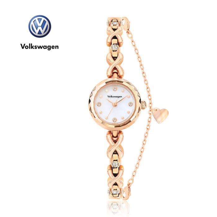 [폭스바겐] 여성용 메탈시계 VW1440-RW