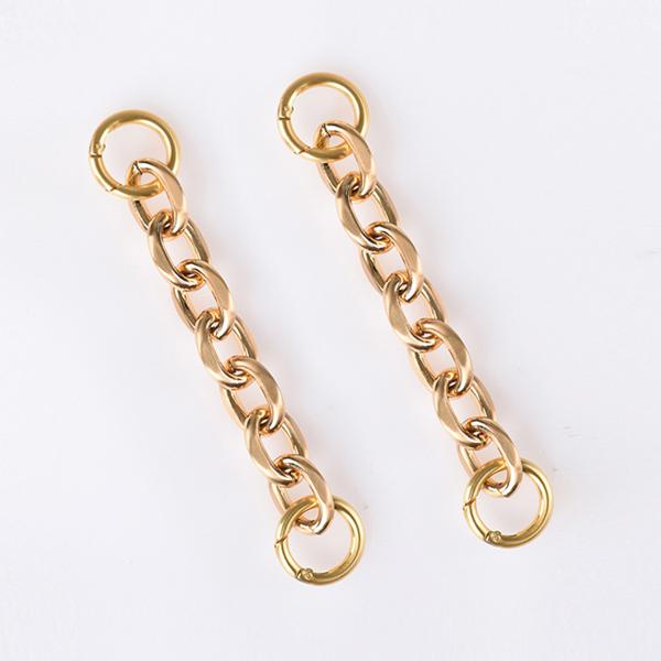 [세미코드] SEMICODE  - 사틴 볼드 골드 체인 24k satin bold gold chain