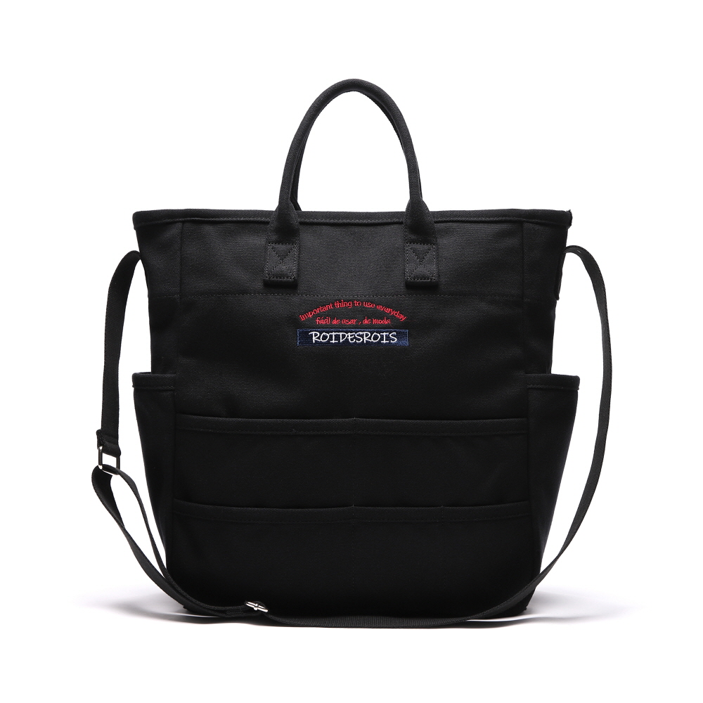 [로아드로아] CHATTER BOX CROSS BAG (BLACK) 크로스백
