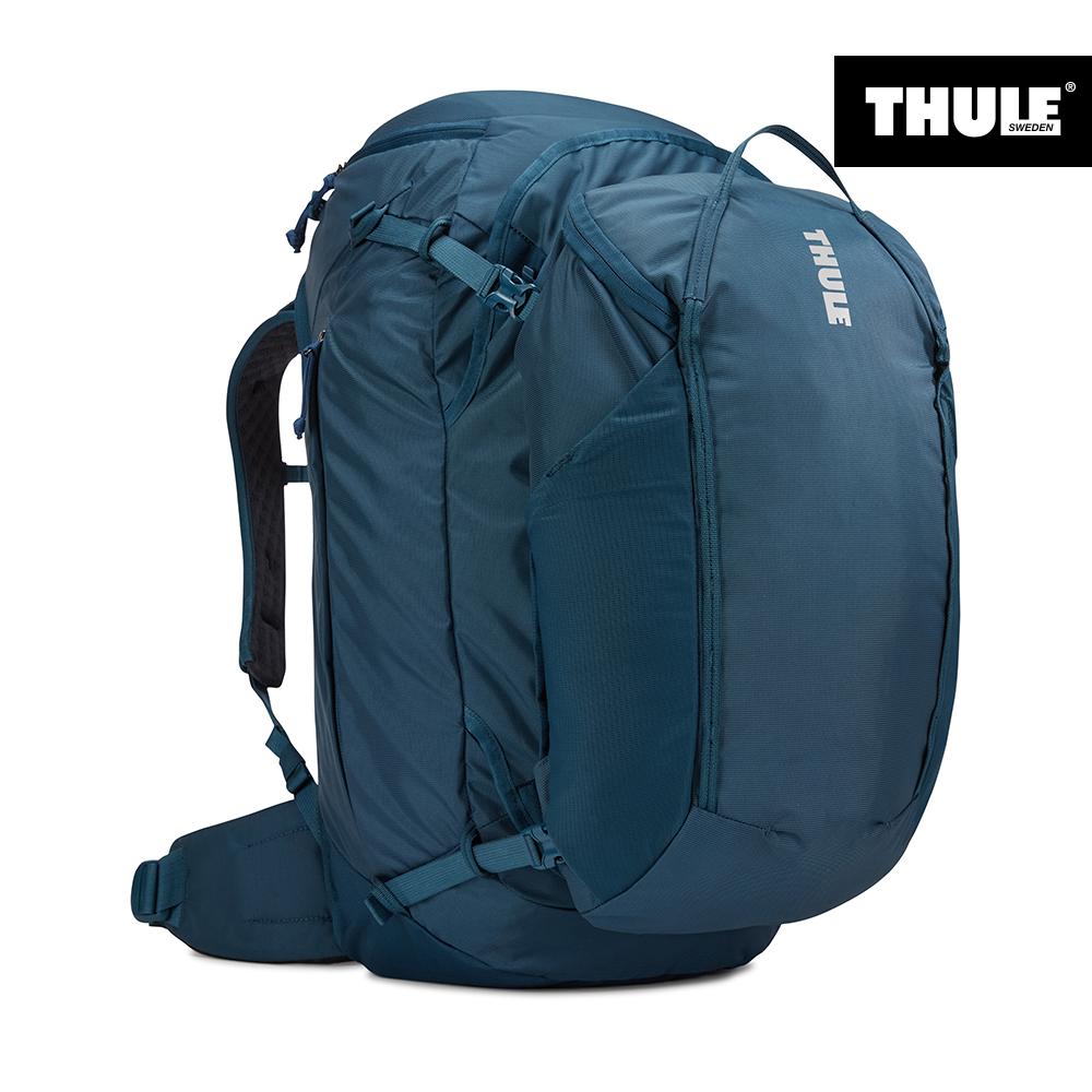 툴레(THULE) 랜드마크 여행백팩 70L 여 마졸리카 블루