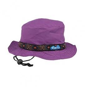 [카부] 스트랩버킷 모자 - Purple