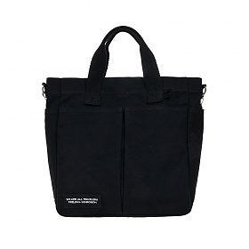 [비아모노] VIAMONOH DAILY TUMBLER BAG (BLACK) 에코백 토트백 크로스백 텀블러백 가방